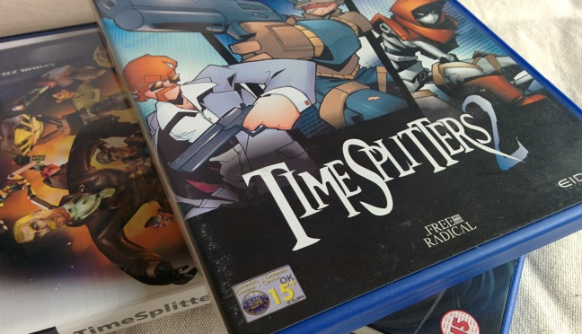 The more popular, and polished, TimeSplitters 2.
